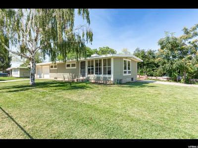 Roy Single Family Home For Sale: 6005 S 2100 W
