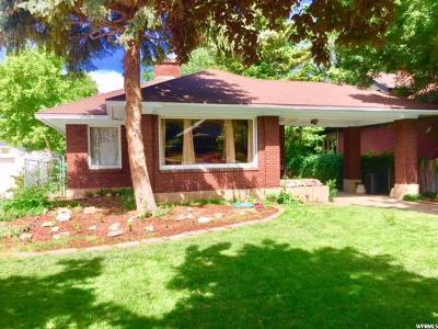 Ogden Single Family Home For Sale: 2571 S Brinker Ave