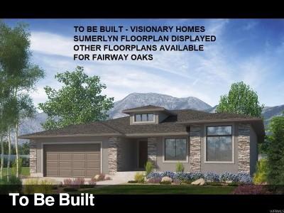 Weber County Single Family Home For Sale: 4825 E Fairway Oaks Dr N #27