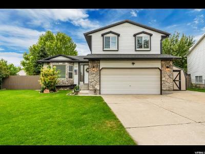 Salt Lake City Single Family Home For Sale: 5997 W Eaton Way S