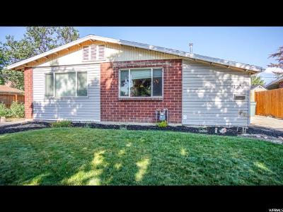 Salt Lake County Single Family Home Under Contract: 1106 N American Beauty Dr W