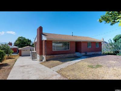 Salt Lake County Single Family Home For Sale: 3106 S 2700 E