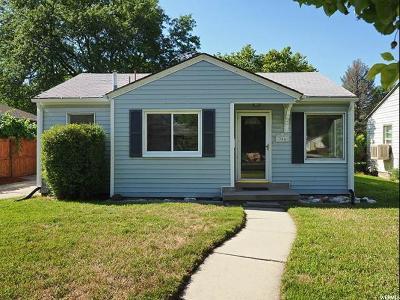 Salt Lake City Single Family Home For Sale: 356 E Welby Ave