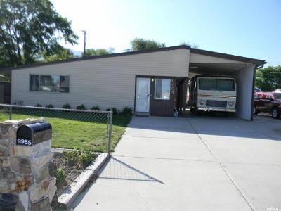 Sandy Single Family Home For Sale: 9965 S Poppy Ln