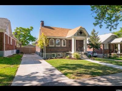 Salt Lake City Single Family Home For Sale: 1532 E Laird Ave