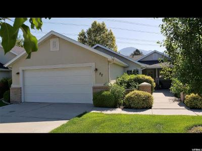 Provo Single Family Home For Sale: 77 S 1530 W