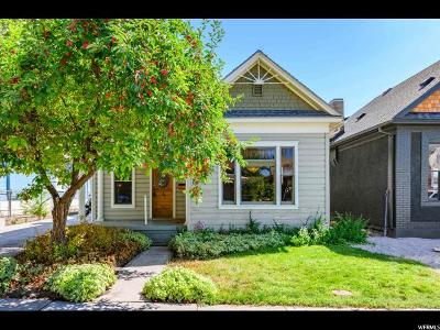 Salt Lake City Single Family Home For Sale: 540 E Lowell Ave S