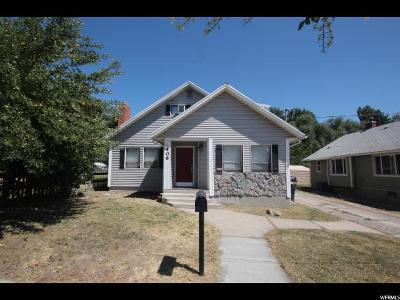 Single Family Home For Sale: 406 S 100 E
