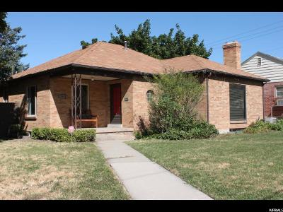 Salt Lake City Single Family Home For Sale: 1516 S 2100 E