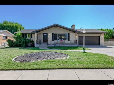 Salt Lake County Single Family Home For Sale: 4681 S 1980 W