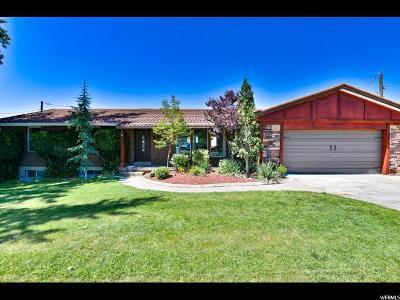Bountiful Single Family Home For Sale: 1784 S Davis Blvd E