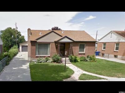 Salt Lake County Single Family Home Under Contract: 1948 Berkeley St