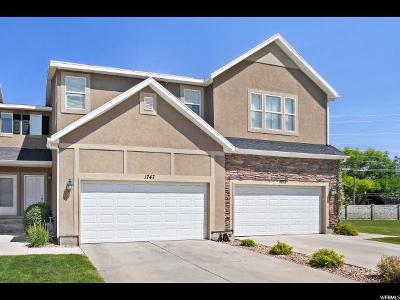 Spanish Fork Townhouse For Sale: 1747 E 920 S