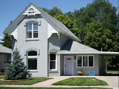 Logan Single Family Home Under Contract: 79 E 400 S
