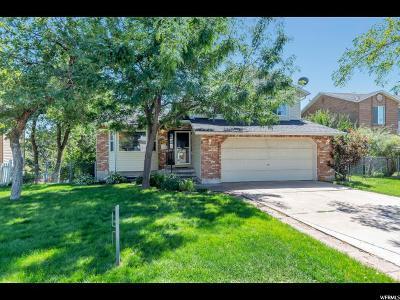 Layton Single Family Home For Sale: 1678 E 2550 N