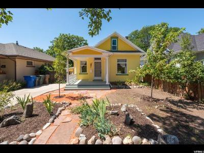 Salt Lake City Single Family Home For Sale: 832 S Lincoln St E