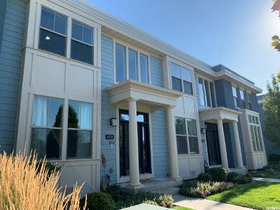 South Jordan Townhouse For Sale: 4731 W Zig Zag Rd S