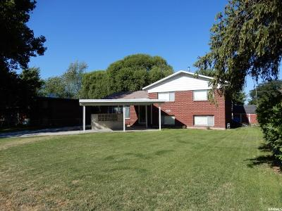 Roy Single Family Home Under Contract: 5691 S 2600 W