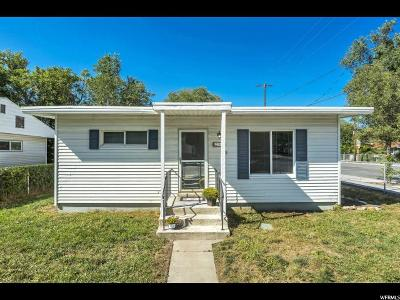 Salt Lake City Single Family Home For Sale: 297 E Rigdon Ave S