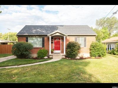 Salt Lake County Single Family Home For Sale: 3052 S Crescent E