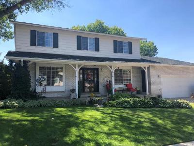 Layton Single Family Home For Sale: 1614 E Kays Creek Dr