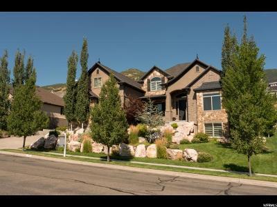 Fruit Heights Single Family Home For Sale: 1171 Deer Ridge Rd