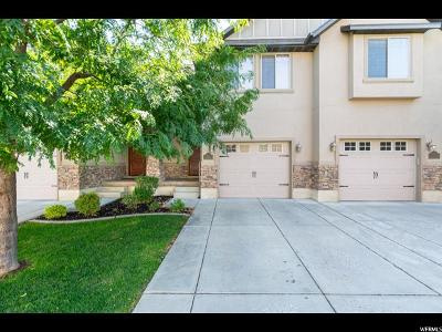 Weber County Townhouse For Sale: 4444 S Cross Creek Rd #19D