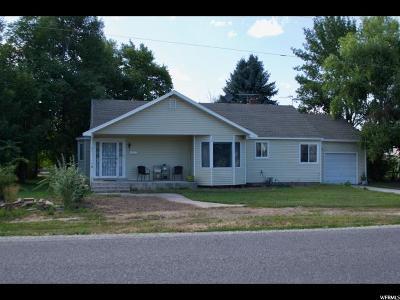 Amalga Single Family Home For Sale: 7875 N 2400 W