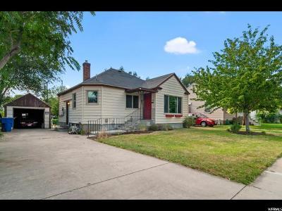 Ogden Single Family Home For Sale: 1029 Jefferson Ave