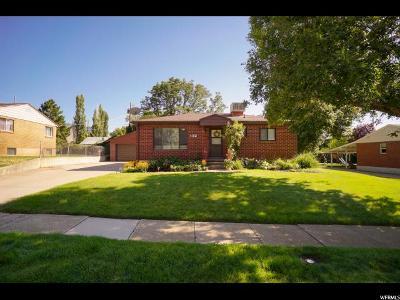 Ogden Single Family Home For Sale: 1155 E Douglas St S