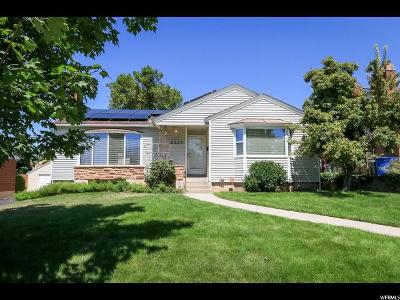 Salt Lake City Single Family Home For Sale: 2233 E Emerson