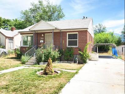 Midvale Single Family Home For Sale: 7905 S Oak St W