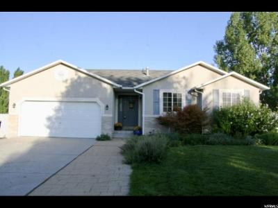 Riverton Single Family Home Under Contract: 5009 W Little Water Peak Dr