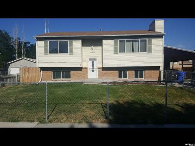 West Jordan Single Family Home For Sale: 6375 S Fuchsia Dr W
