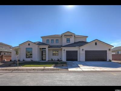 St. George Single Family Home For Sale: 2403 W Chardonnay Ln #25