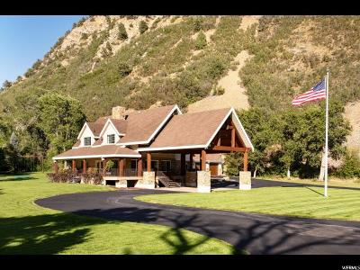 Springville Single Family Home For Sale: 757 S Hobble Creek Canyon
