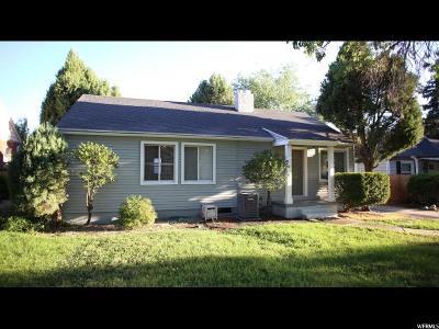 Salt Lake County Single Family Home Under Contract: 1912 E Blaine Ave S
