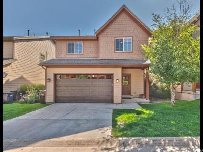 Park City Single Family Home For Sale: 5652 N Kodiak Way