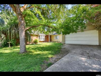 Bountiful Single Family Home For Sale: 110 E 900 N