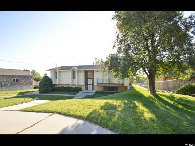 Layton Single Family Home For Sale: 1837 Valley View Dr