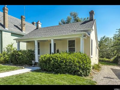 Salt Lake City Single Family Home For Sale: 662 E 4th Ave