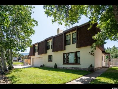 Bountiful Single Family Home For Sale: 380 E 1500 S