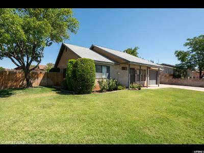 St. George Single Family Home For Sale: 1640 W 1400 N