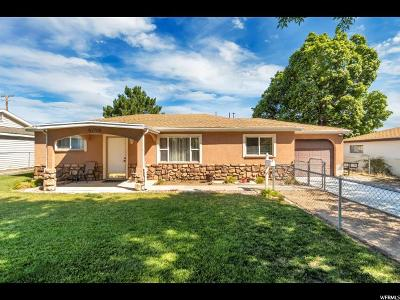 Salt Lake City Single Family Home For Sale: 4796 W 5100 S