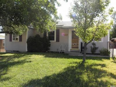 Salt Lake City Single Family Home For Sale: 5273 S 4820 W