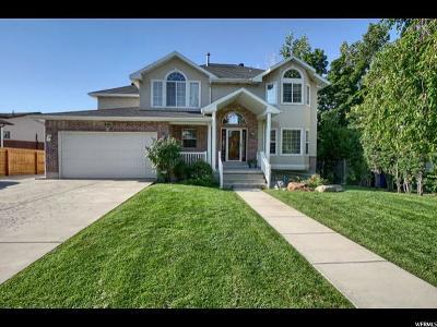 Layton Single Family Home For Sale: 1496 E 2550 N