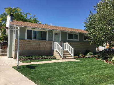 Davis County Single Family Home For Sale: 1629 N 2800 W