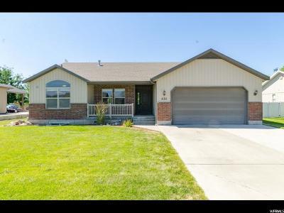 Wellsville Single Family Home For Sale: 635 N 850 E