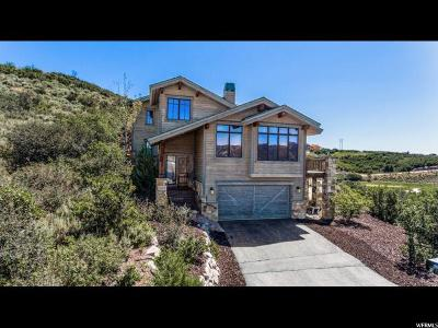 Wasatch County Single Family Home For Sale: 10746 N Hideout Trl