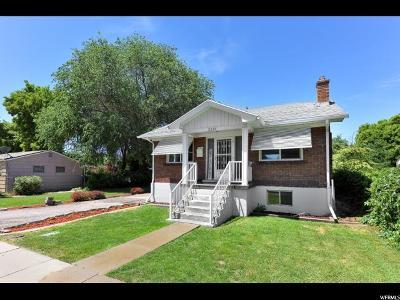 Salt Lake City Single Family Home For Sale: 3218 S Green St E